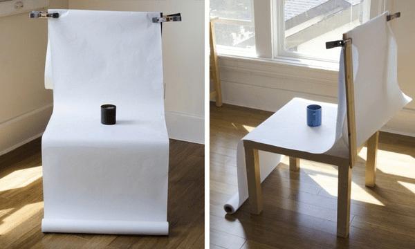 DIY photo table